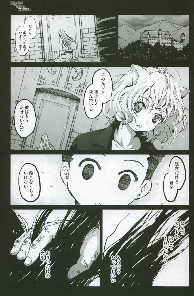 HUNTER×HUNTER エロマンガ同人誌2