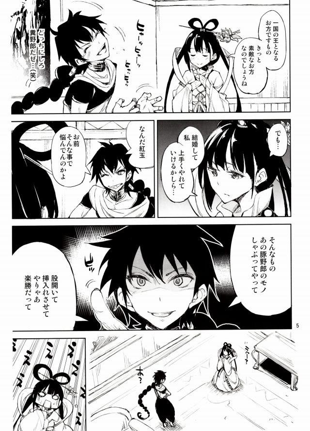 マギ エロマンガ同人誌4
