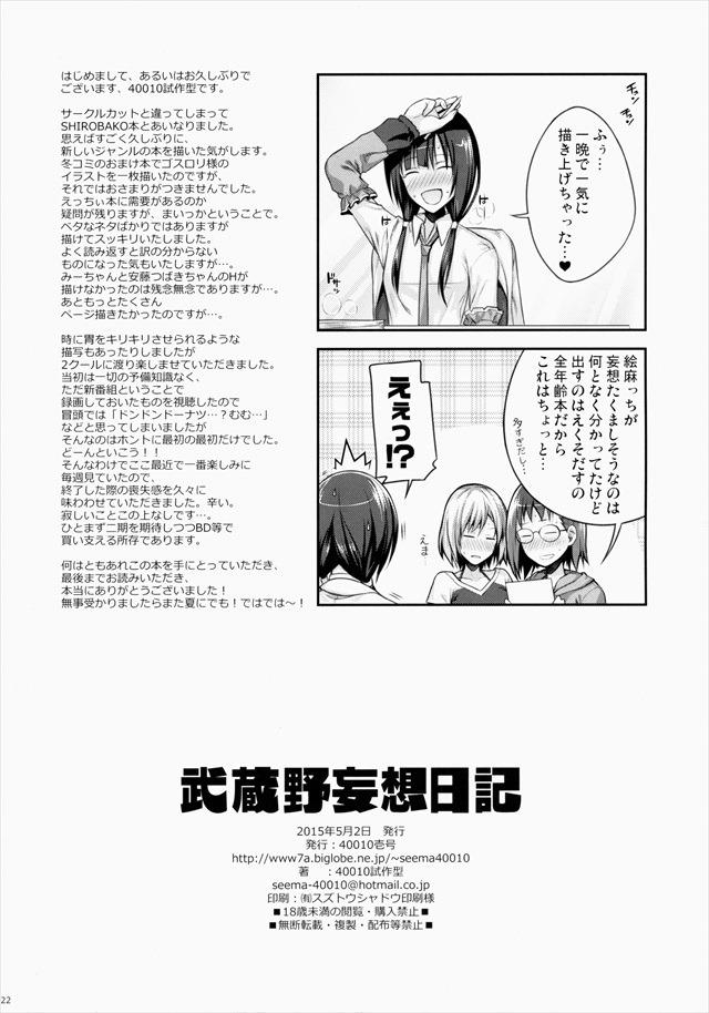 SHIROBAKO エロマンガ・同人誌5021