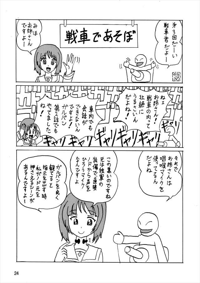 ガルパン エロマンガ・同人誌10024