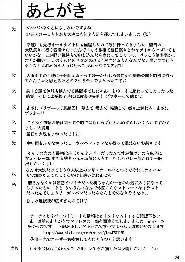 ガルパン エロマンガ・同人誌20029