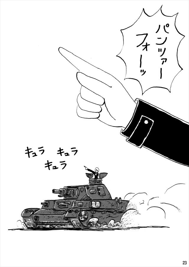 ガルパン エロマンガ・同人誌20023