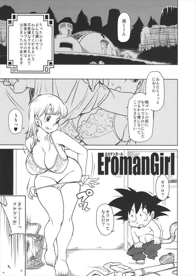 ドラゴンボール エロマンガ・同人誌11003