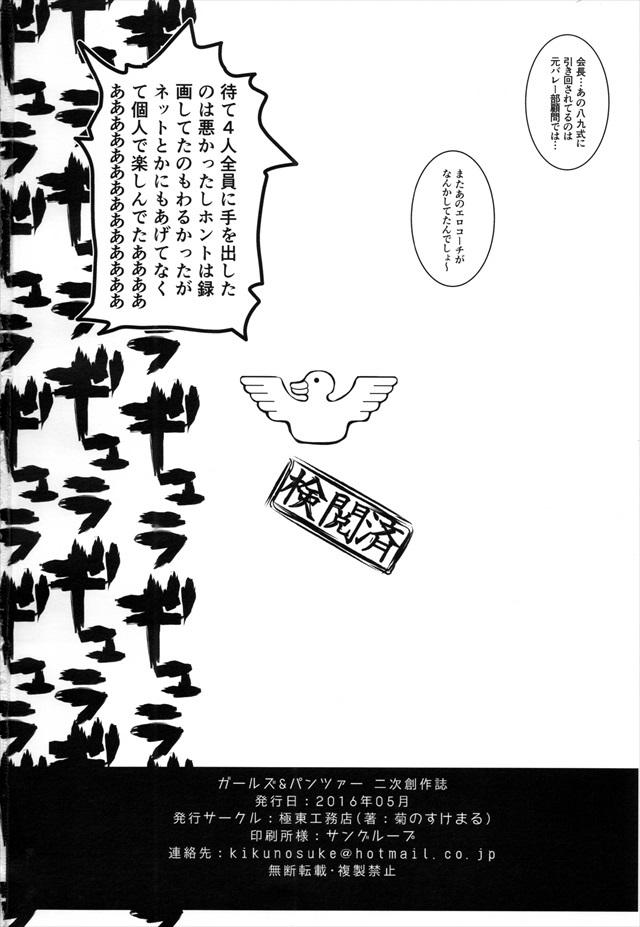 ガルパン エロマンガ・同人誌17018