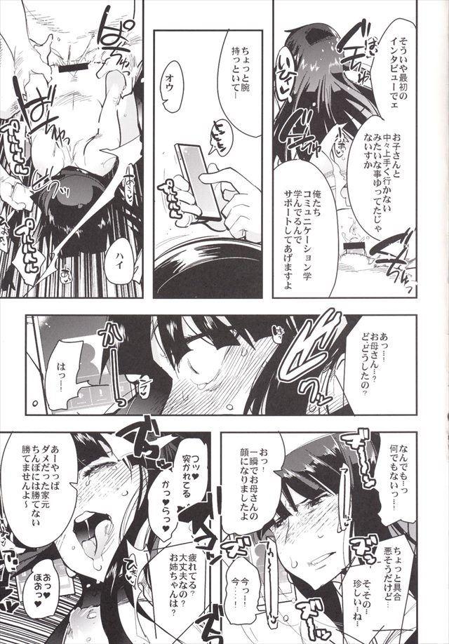 ガルパン エロマンガ・同人誌12015